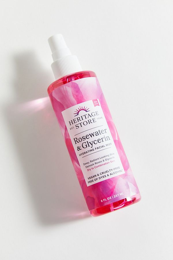 Heritage Store Rosewater Glycerin Spray Urban Outfitters