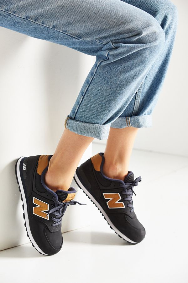 new balance 574 lux leather