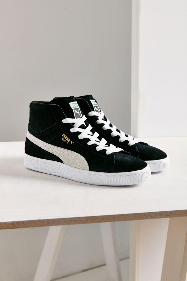 d71cf5bb5a11 Puma Suede Classic Mid Jr Sneaker