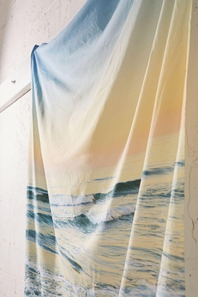 Guido Montanes Beach Tapestry Urban