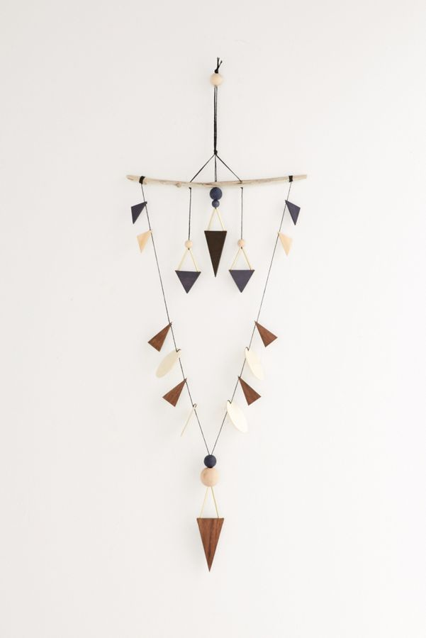LIO and LINN Indigo Arrow Wall Hanging | Urban Outfitters