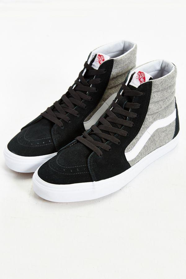 e247f61c0e Slide View  1  Vans Sk8-Hi Wool Sneaker