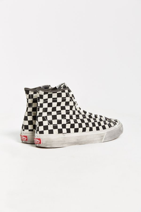 Vans X UO Overwashed Sk8 Hi Decon Sneaker fra Urban Outfitters