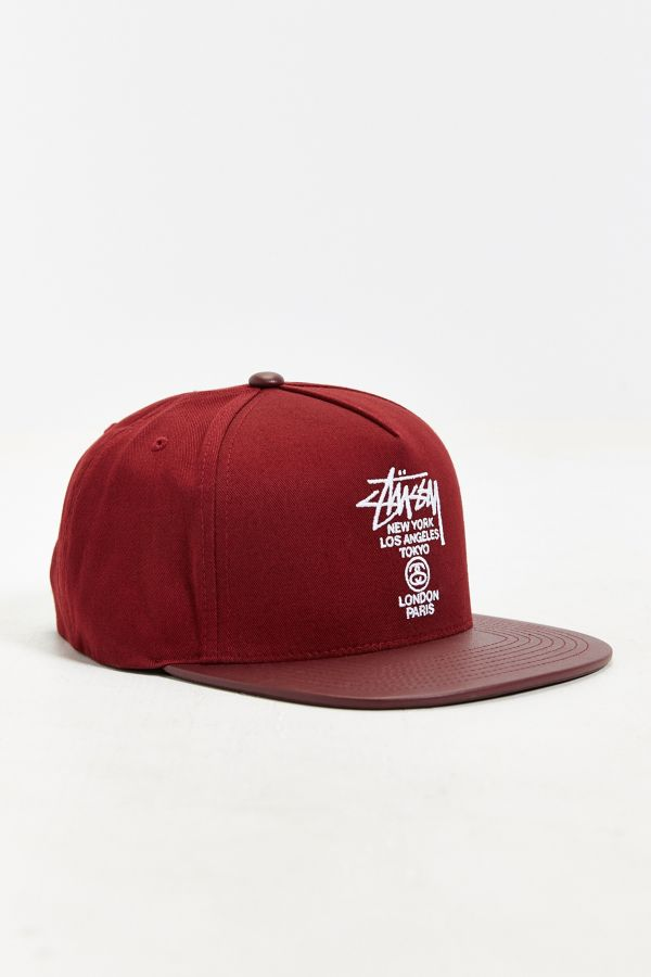 cbf806e13 Stussy World Tour Snapback Hat | Urban Outfitters