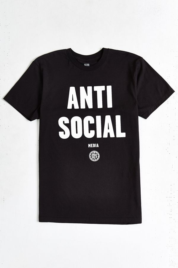 aa331701c OBEY Anti-Social Media Tee | Urban Outfitters