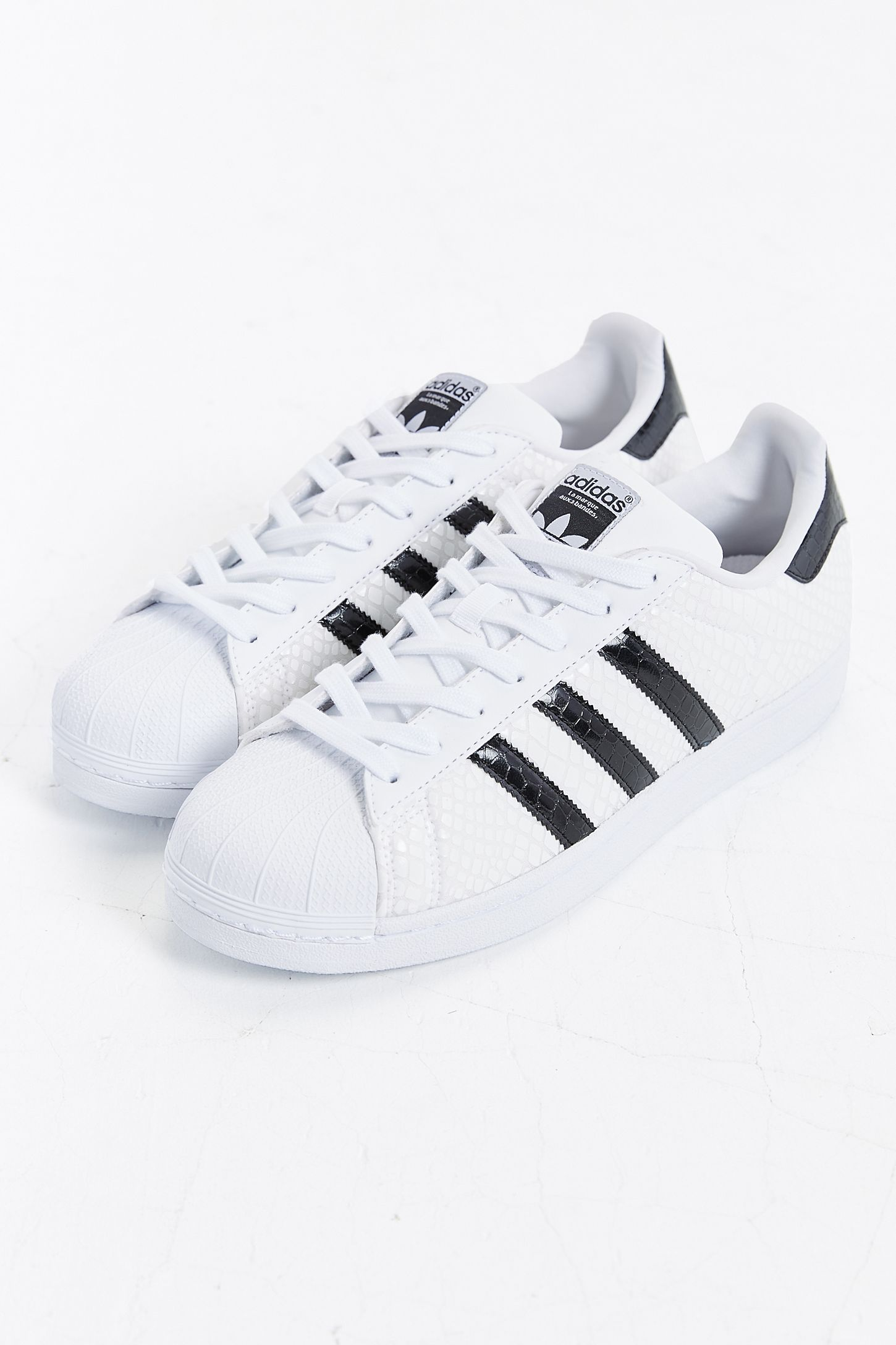 49112a70b443 adidas Superstar Foundation Reptile Sneaker