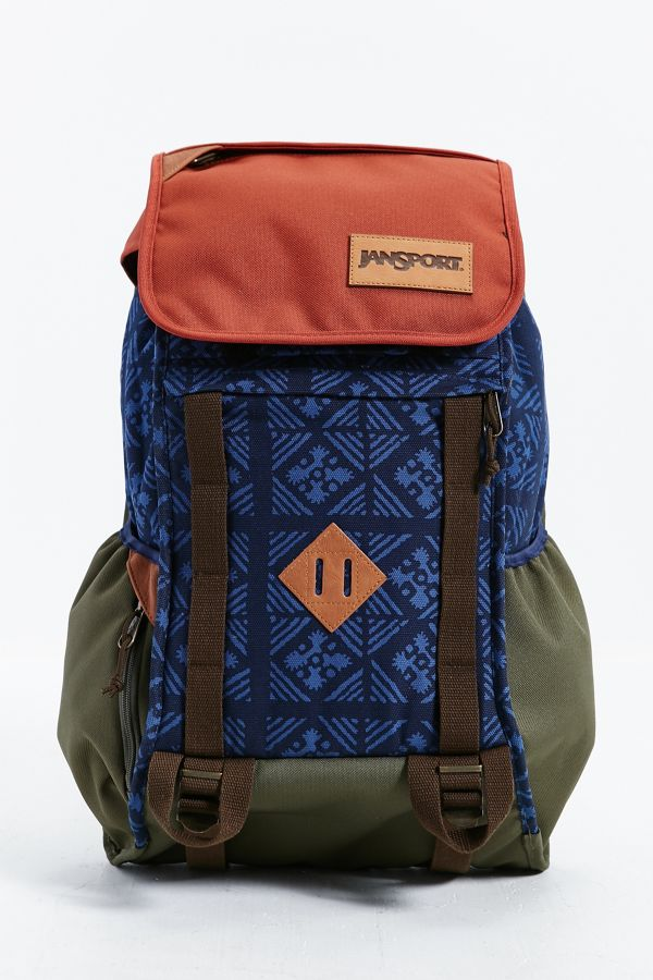 JanSport Iron Sight Print Backpack   Urban Outfitters