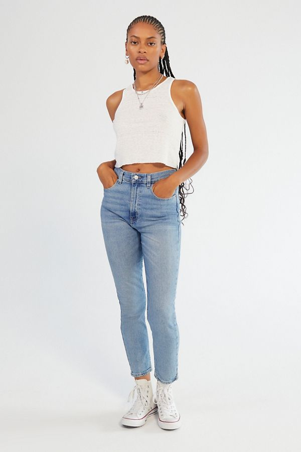 296fa073d5 BDG Girlfriend High-Rise Jean - Light Wash | Urban Outfitters