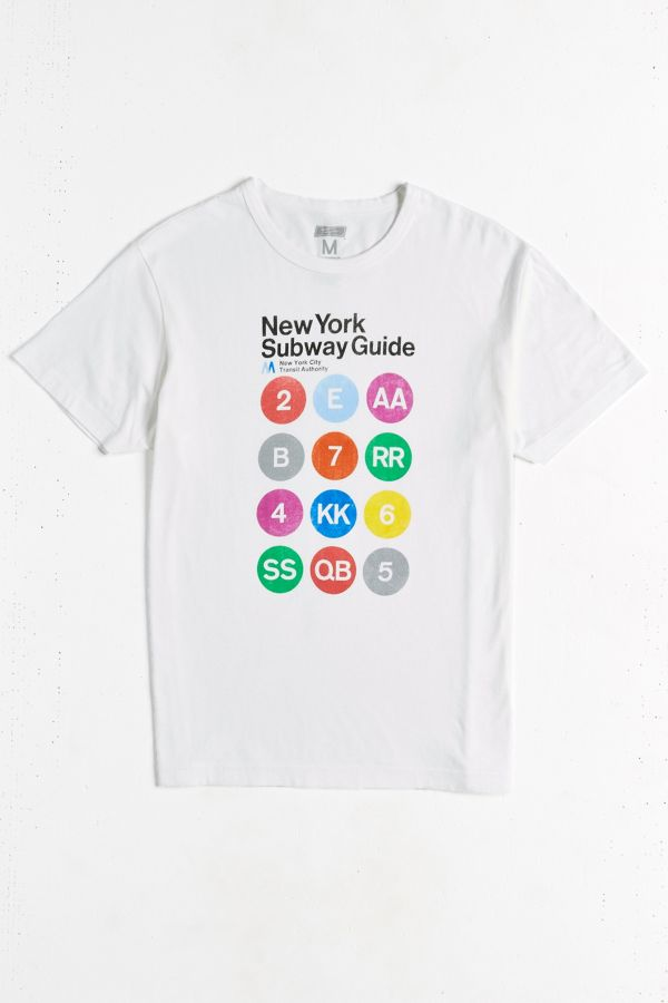 Nyc Subway Map T Shirt.New York Subway Map Tee