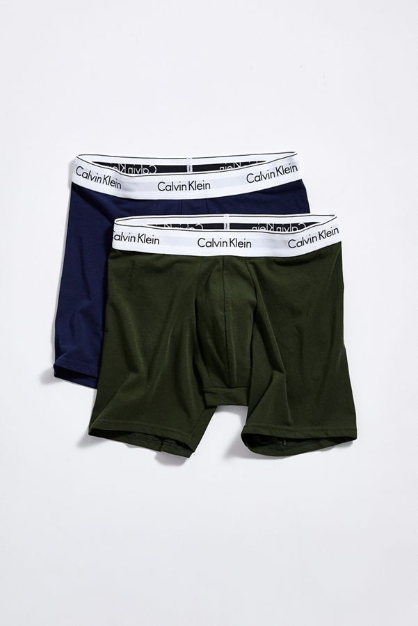 62f189607dd878 Calvin Klein Modern Cotton Boxer Brief 2-Pack | Urban Outfitters