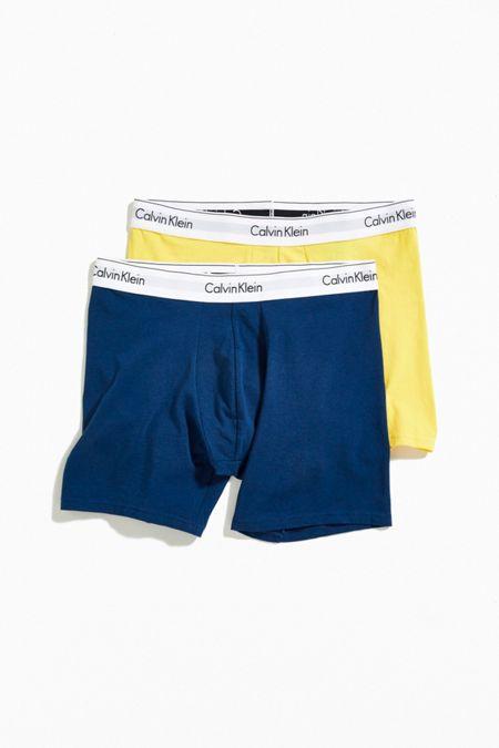 95771e1ae8e62 Calvin Klein Modern Cotton Boxer Brief 2-Pack