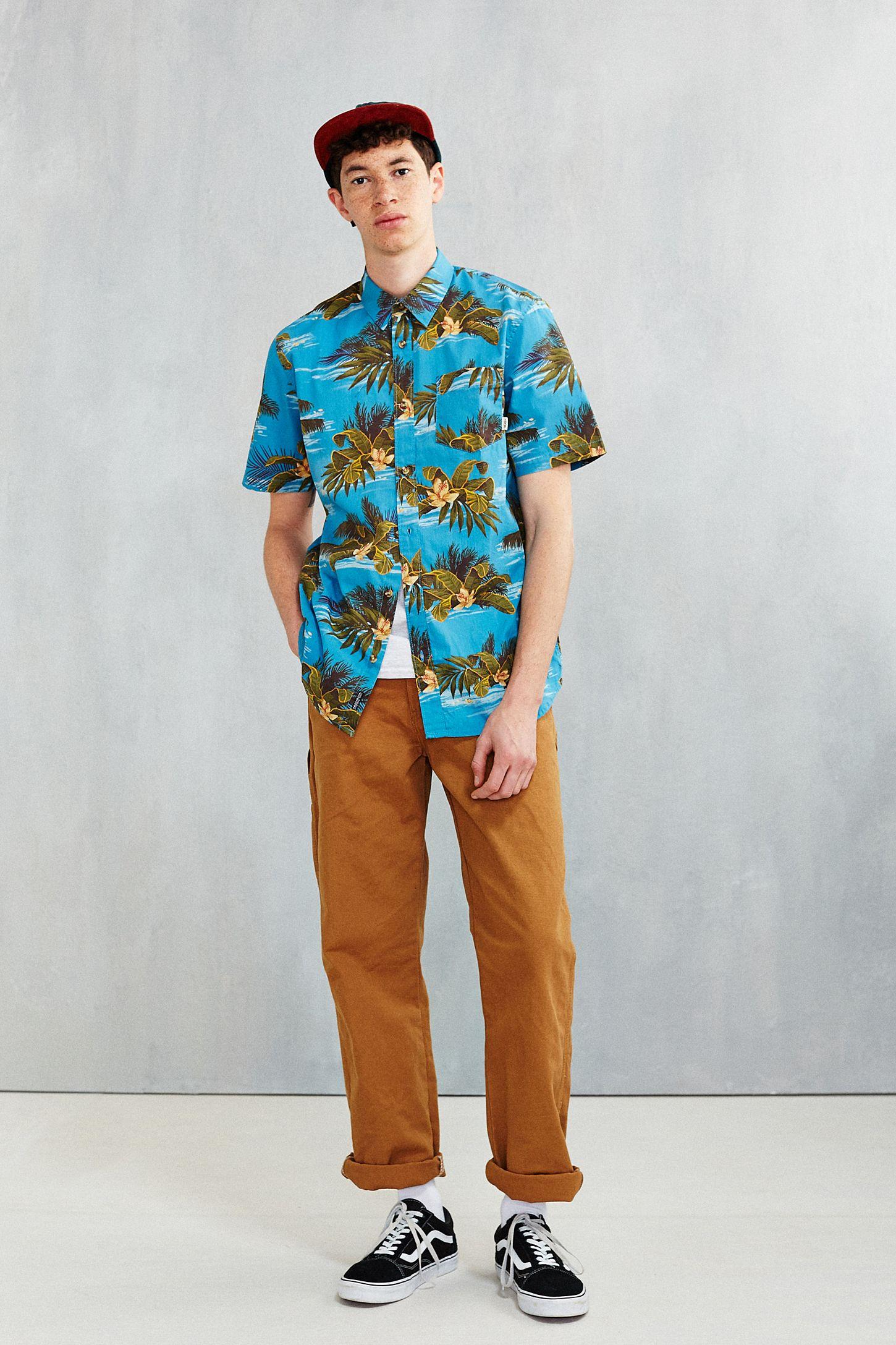 21f239a9ac Slide View  6  Vans Aloha Short-Sleeve Button-Down Shirt