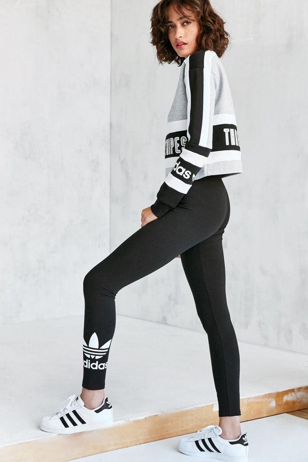 Adidas Originals Trefoil Adidas Legging Trefoil Originals Legging cTKJl13uF5