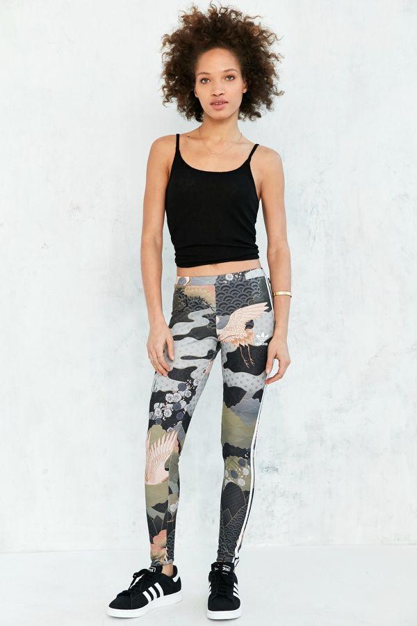 1234bacedc245 adidas Originals By Rita Ora Kimono Print Legging | Urban Outfitters