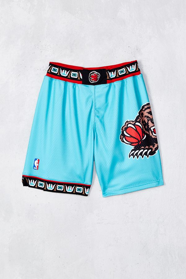 49e254d79a Mitchell & Ness Vancouver Grizzlies Authentic Short | Urban Outfitters