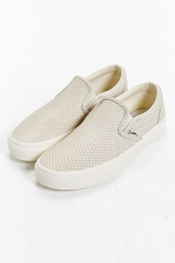 f27e2f2bea Slide View  1  Vans Snake Leather Classic Slip-On Sneaker