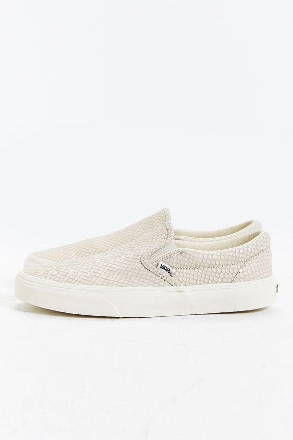 8116a246b7 Slide View  2  Vans Snake Leather Classic Slip-On Sneaker