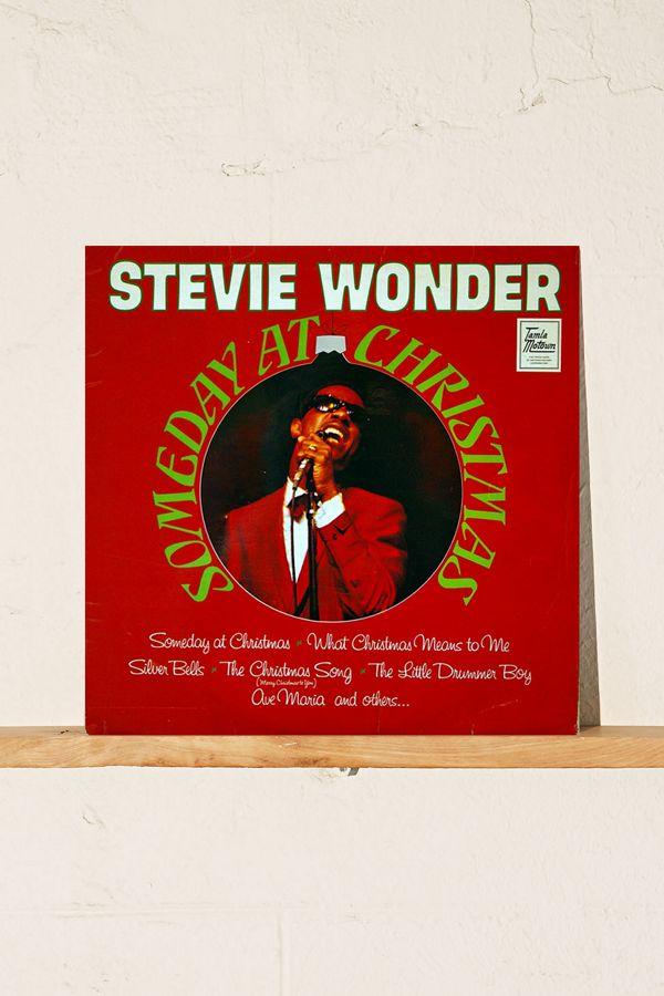 Stevie Wonder Christmas.Stevie Wonder Someday At Christmas Lp