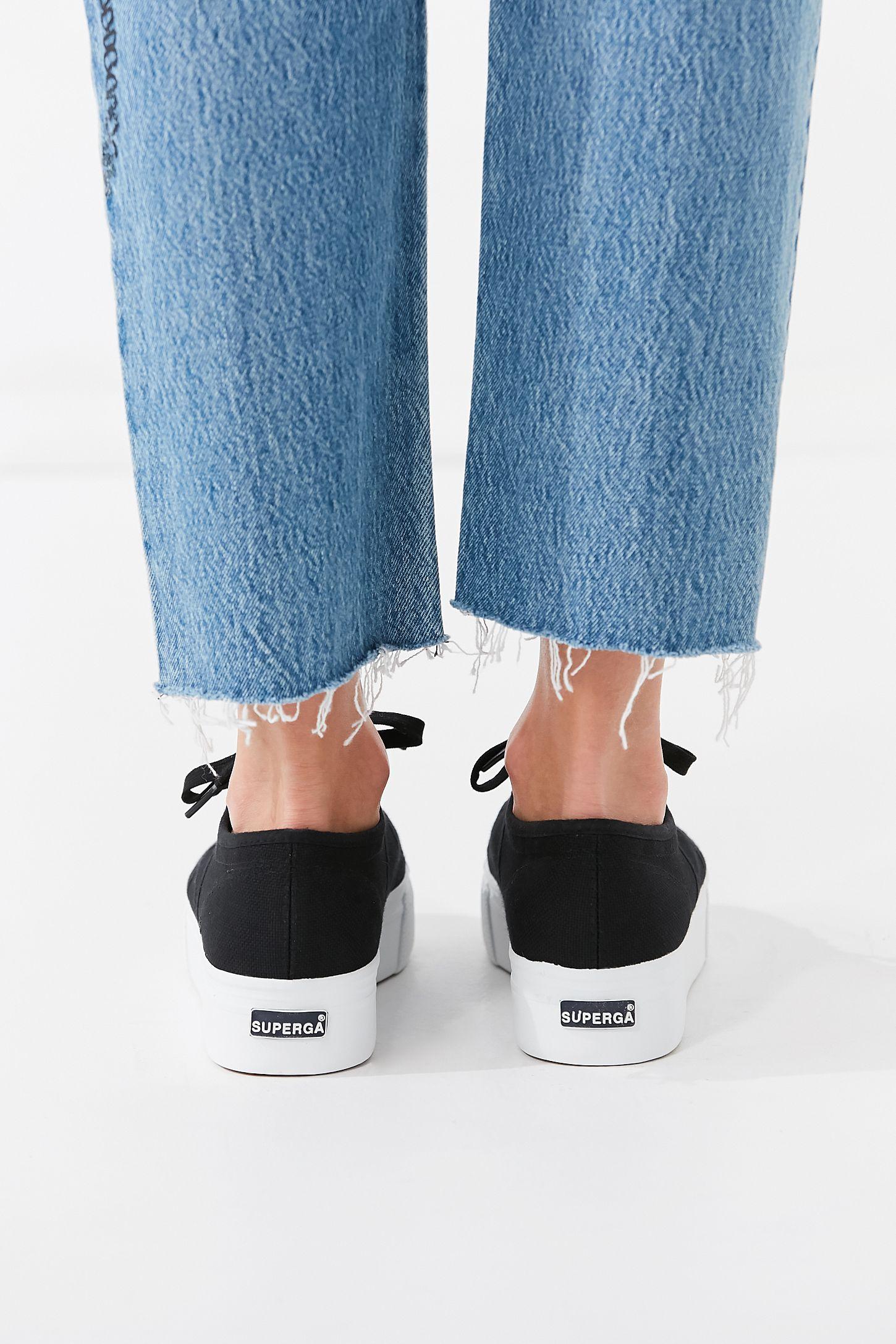 95d57fedcff1 Slide View  6  Superga 2790 Linea Platform Sneaker
