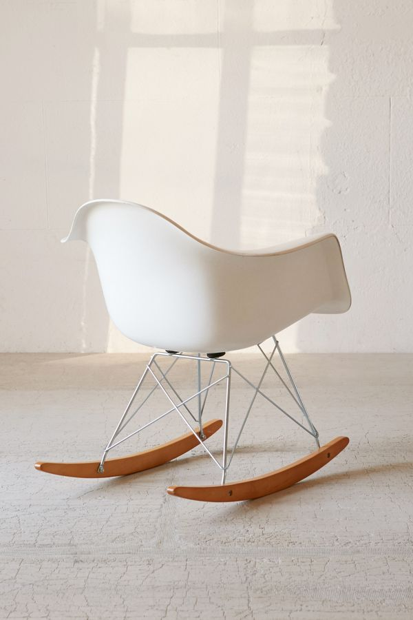 Pleasant Modernica Fiberglass Arm Shell Rocking Chair Andrewgaddart Wooden Chair Designs For Living Room Andrewgaddartcom