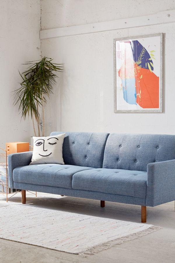Berwick Mid Century Sleeper Sofa