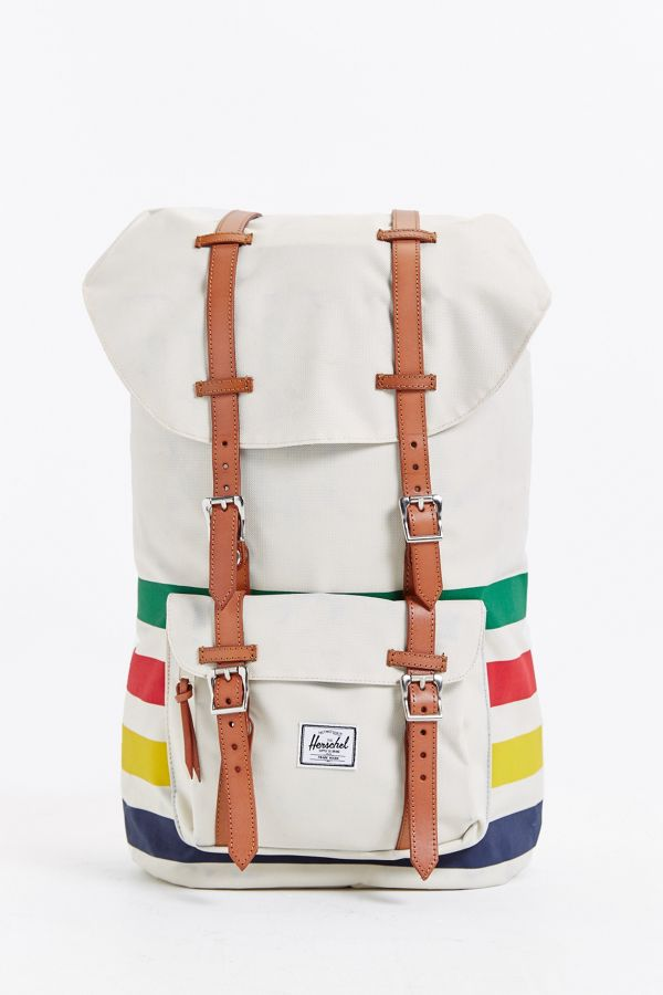 35afb3778a2 Slide View  1  Herschel Supply Co. Hudson s Bay Point Blanket Little  America Backpack
