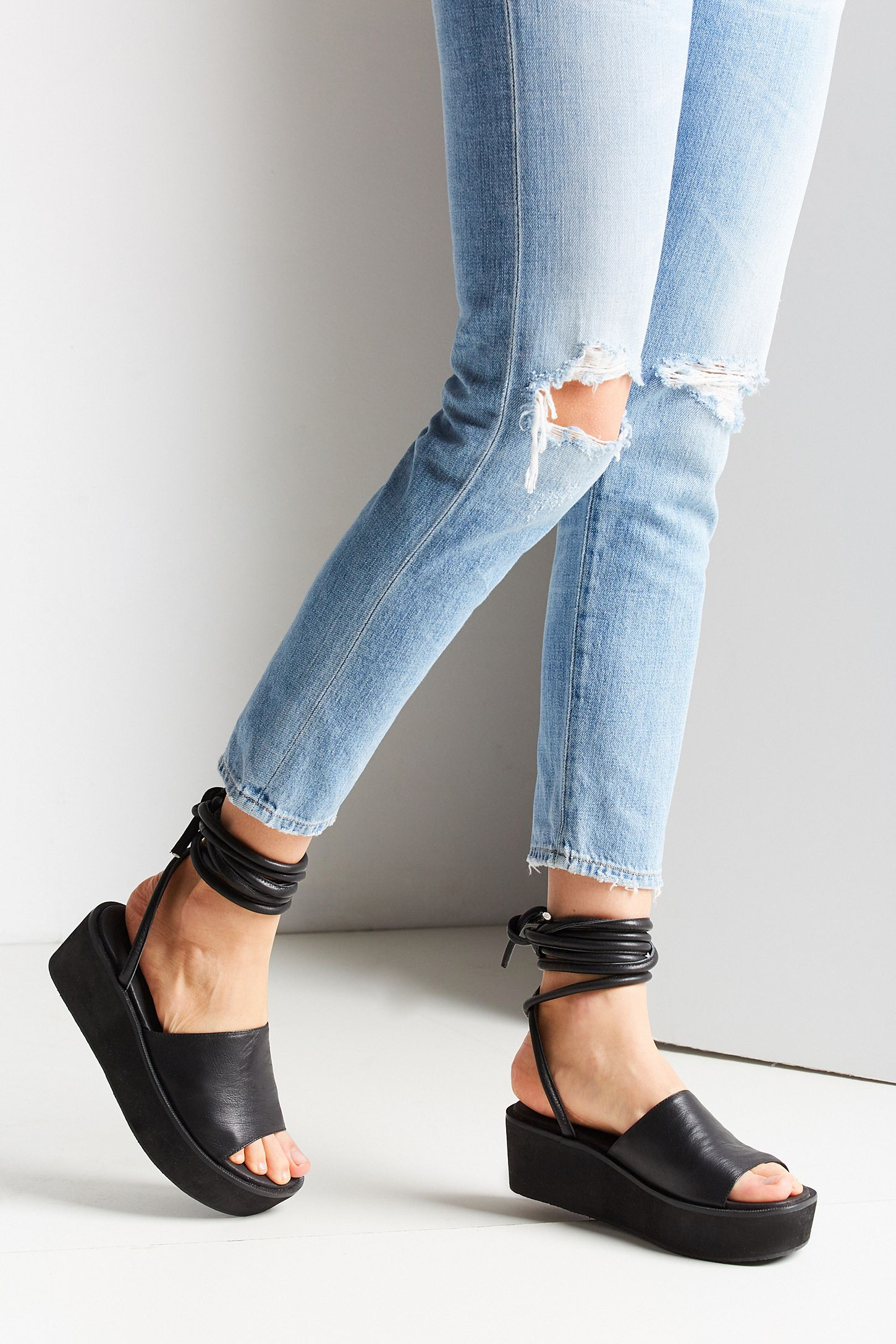9e57a4898947 Intentionally Blank Alex Platform Sandal. Tap image to zoom. Hover to zoom.  Double Tap to Zoom