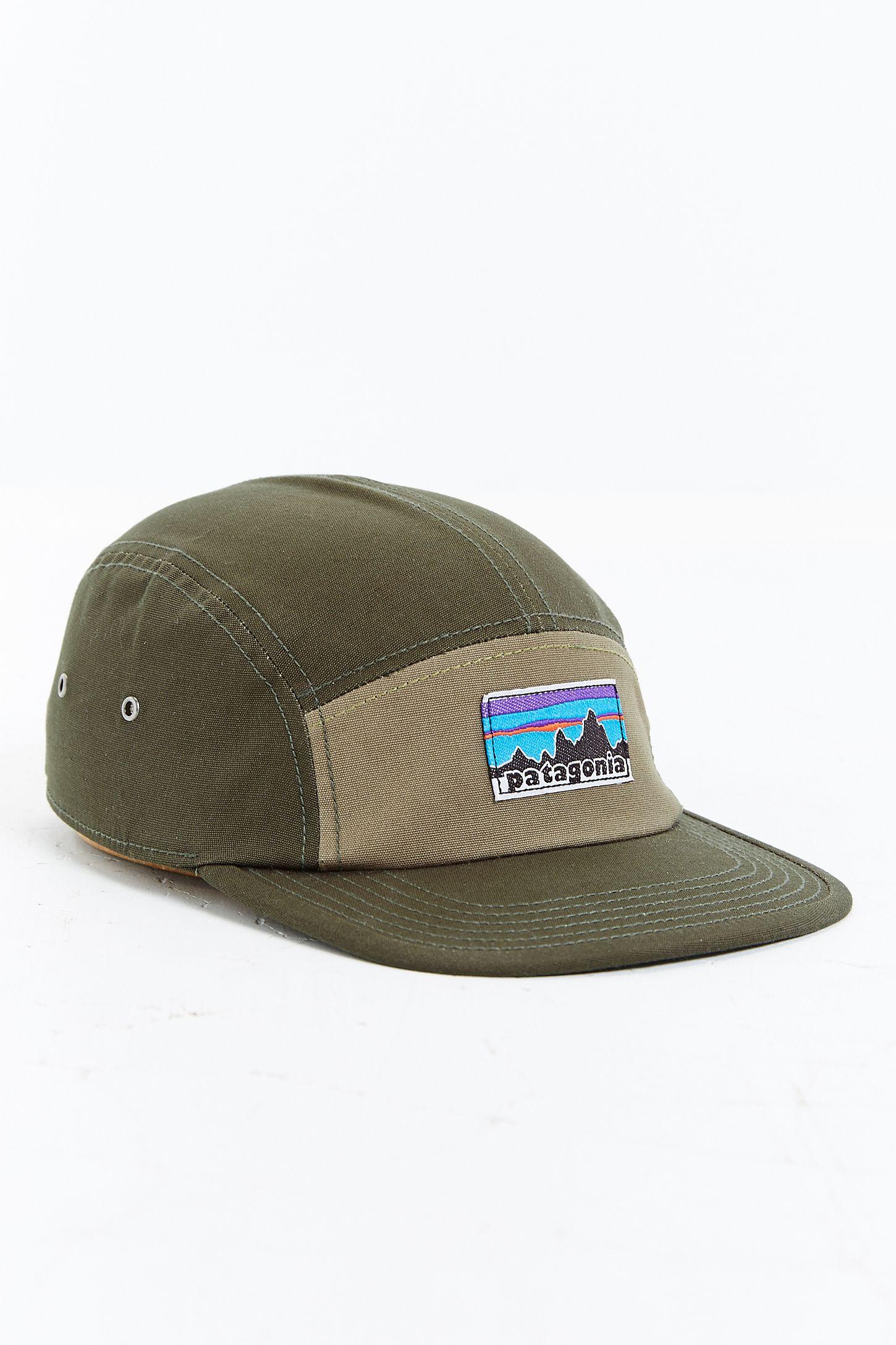 27cbb6647cf87 Patagonia Retro Fitz Roy Label 5-Panel Baseball Hat