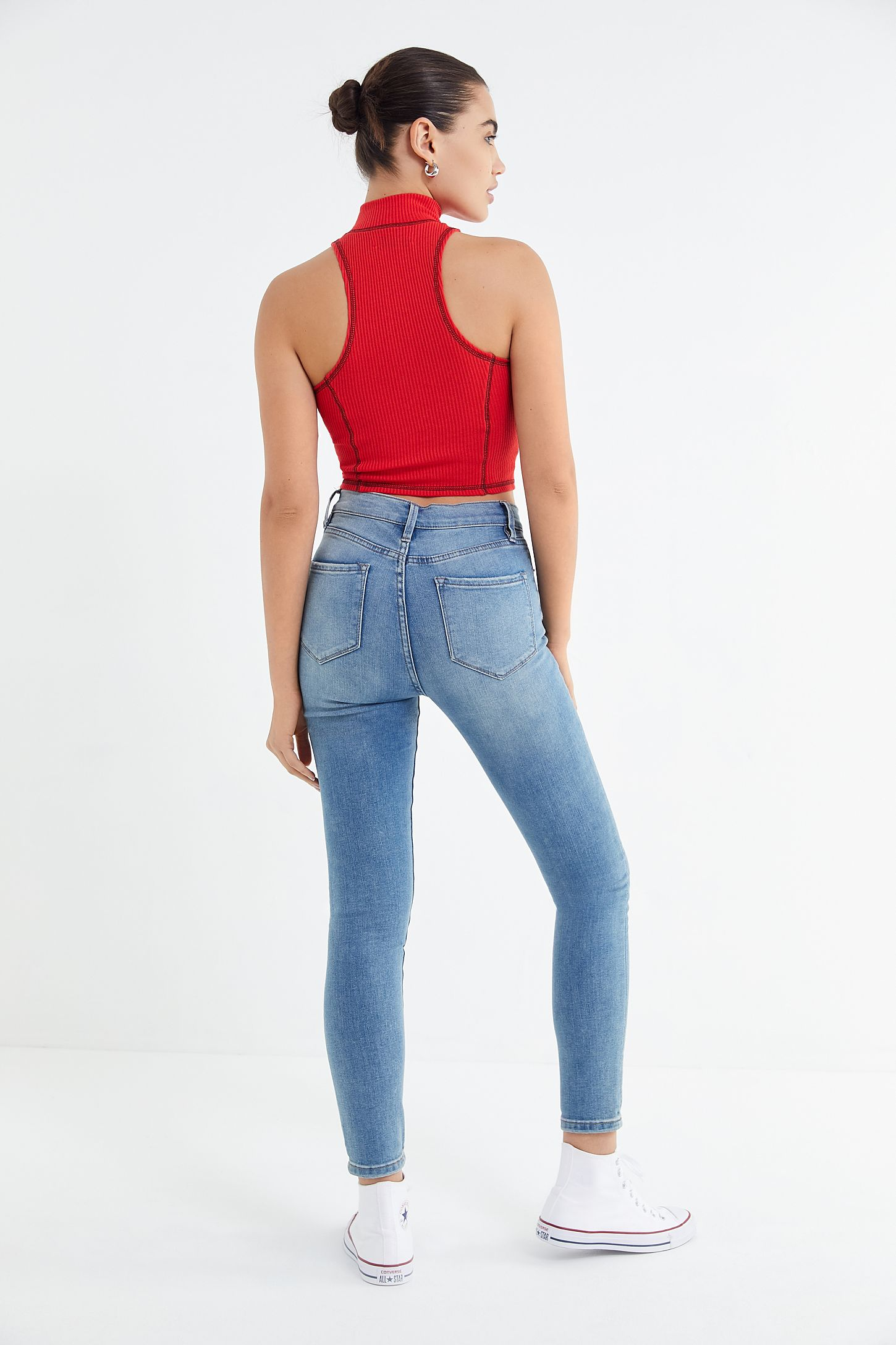 b9d77ade3d BDG Twig High-Rise Skinny Jean - Medium Wash | Urban Outfitters