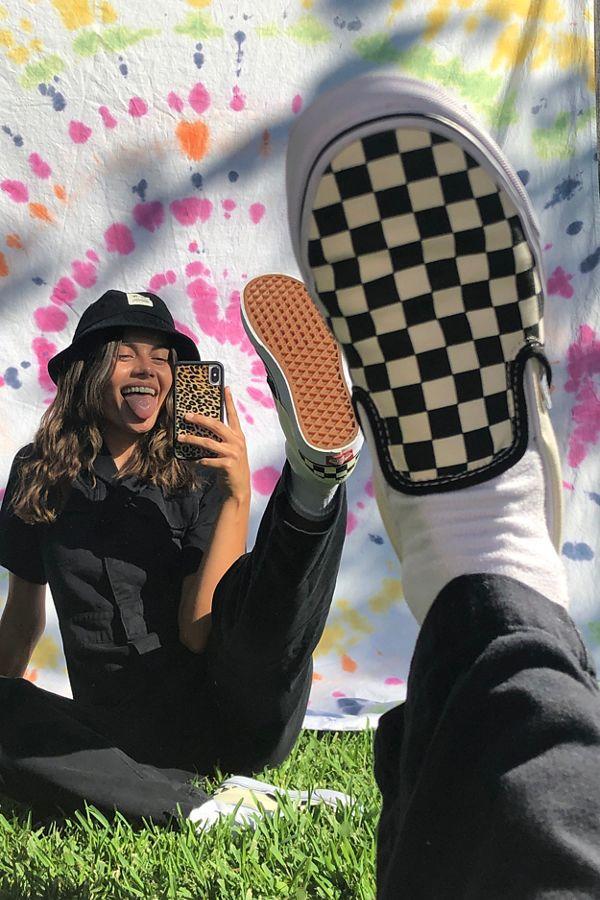 dd2a3487e52 Slide View  1  Vans Checkerboard Slip-On Sneaker