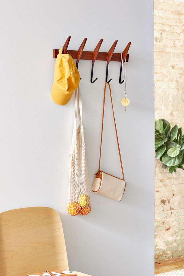 Mid Century Modern Wall Multi Hook Urban Outfitters