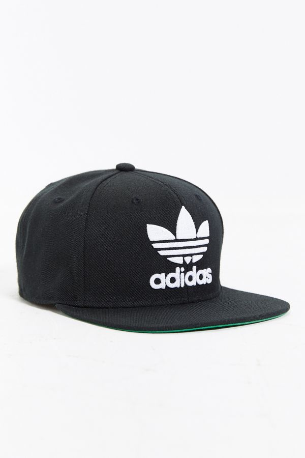 be350565 adidas Originals Trefoil Snapback Hat | Urban Outfitters