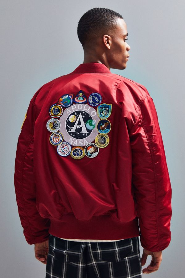 size 40 87c65 becb4 Alpha Industries Apollo MA-1 Bomber Jacket