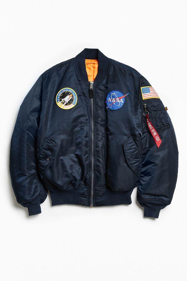 comprare on line de2ad 9027a Alpha Industries NASA Bomber Jacket