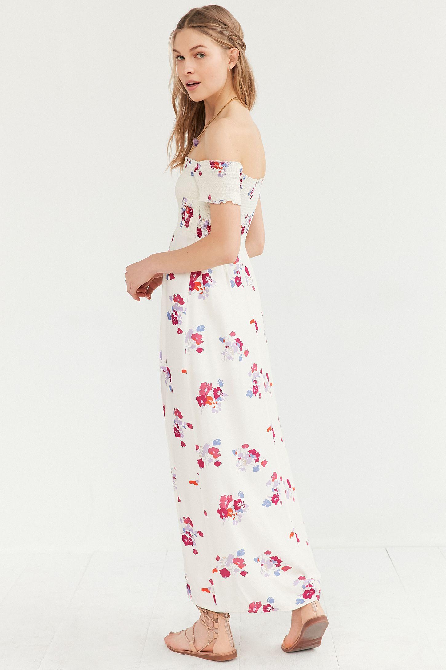 0df70156ebd Slide View  6  MINKPINK Falling Blooms Off-The-Shoulder Maxi Dress