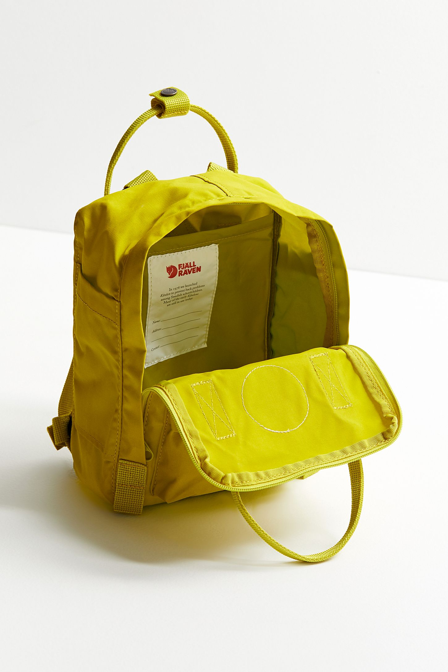 239abc39fcac Slide View  4  Fjallraven Kanken Mini Backpack