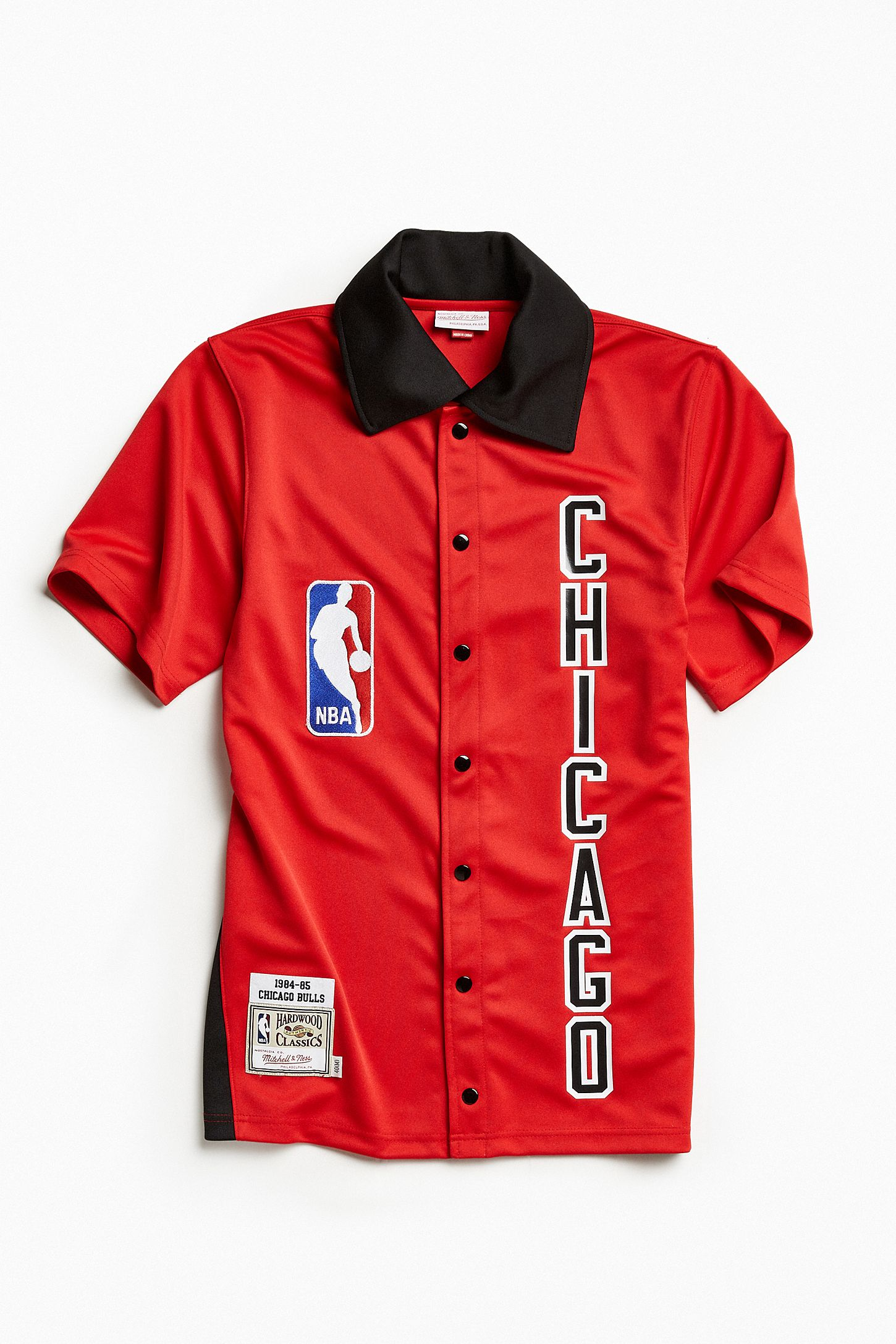 4b68a4e72 Mitchell   Ness Authentic NBA Chicago Bulls Shooting Shirt. Tap image to  zoom. Hover to zoom. Double Tap to Zoom