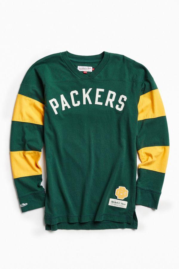 best loved b36fc 57b0b Mitchell & Ness NFL Green Bay Packers Field Goal Long Sleeve ...