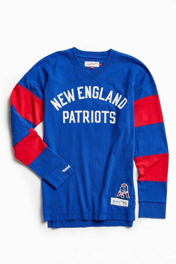new product 549a4 2303b Mitchell & Ness NFL New England Patriots Field Goal Long ...