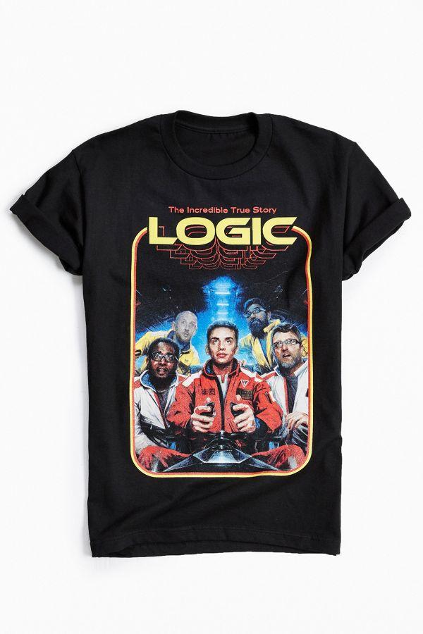 e910d52f9b26 Logic '80s Tee   Urban Outfitters
