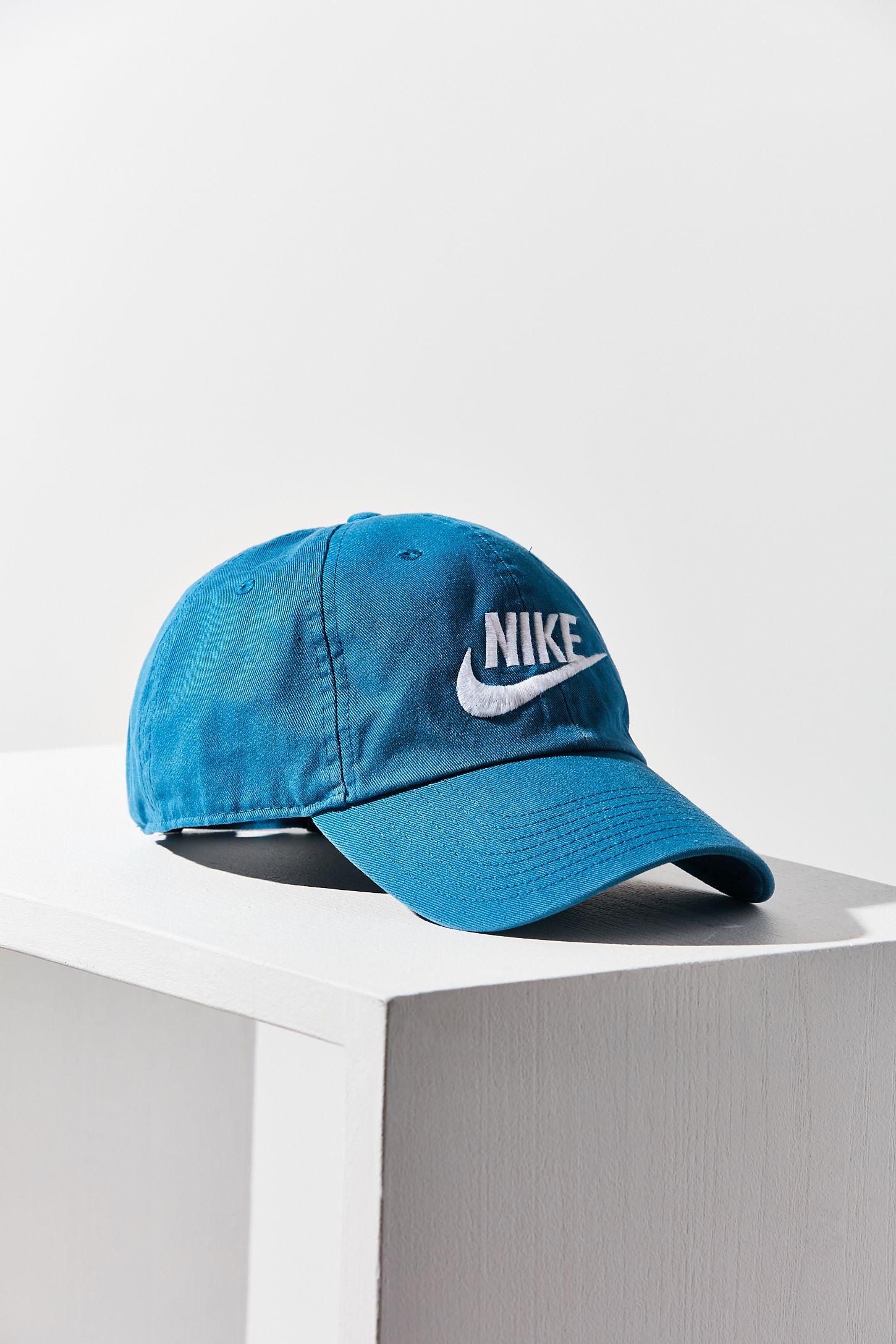 23025d1a3b4 Nike Heritage 86 Futura Logo Strapback Hat
