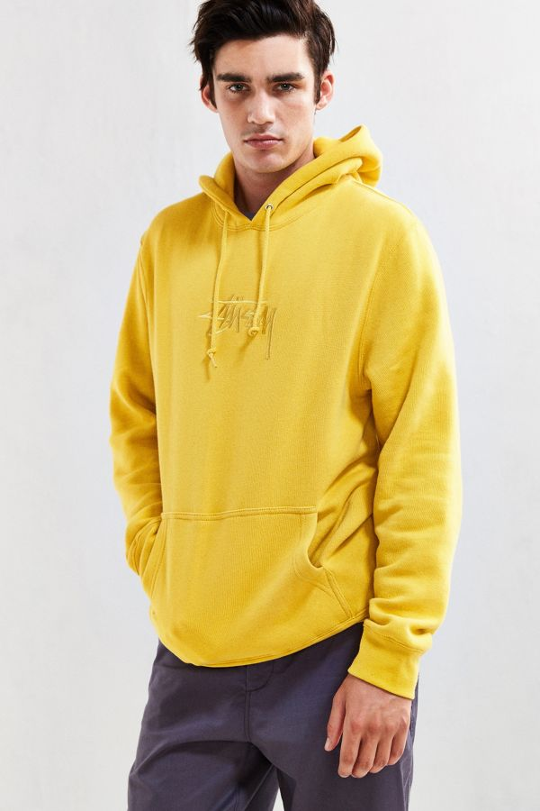e6d40aaca Stussy New Stock Embroidered Hoodie Sweatshirt | Urban Outfitters