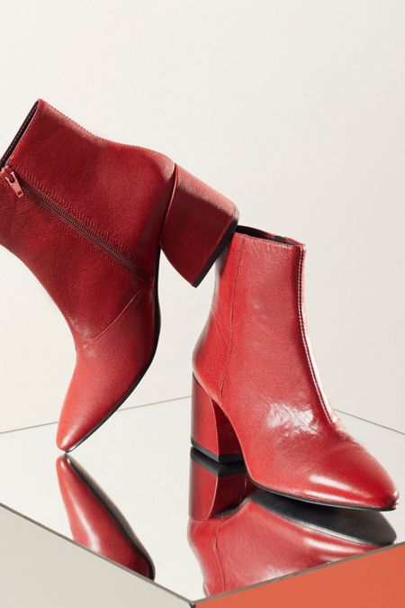 red Women's Boots + Ankle Boots | Urban Outfitters