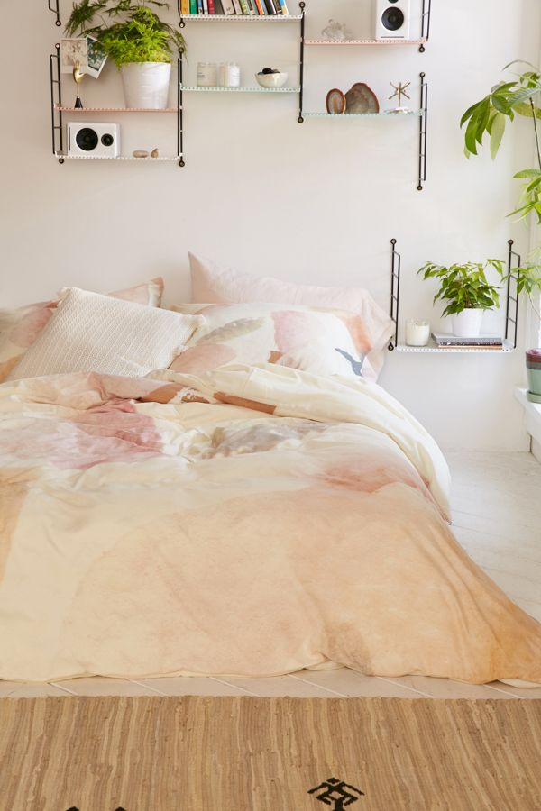 Slide View: 2: Georgiana Paraschiv For Deny Abstract M3 Duvet Cover