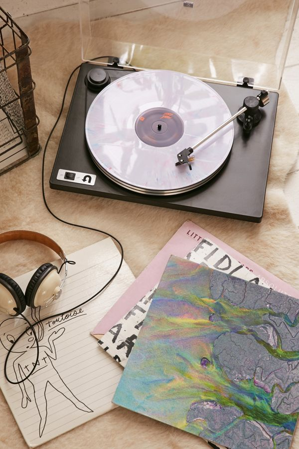 U-Turn Audio Orbit Plus Pre-Amp Vinyl Turntable - Black