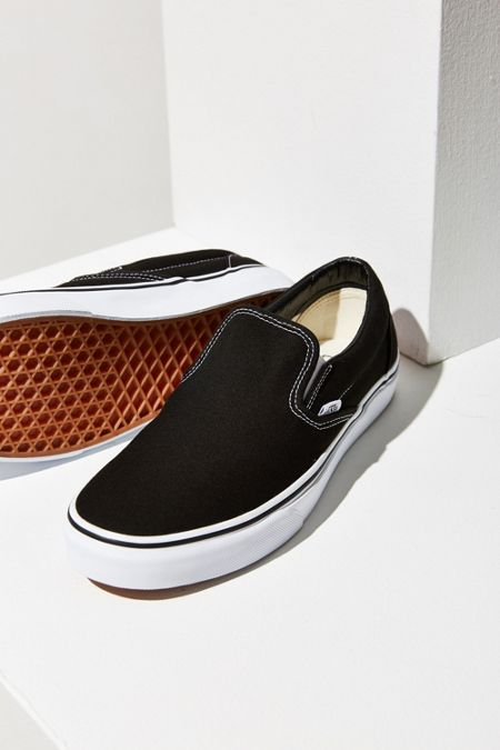 6f08d861e6 Black + White · Vans Classic Slip-On Sneaker