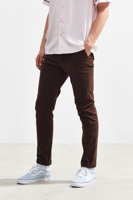 b74d0616 UO Easton Skinny Stretch Low-Rise Chino Pant