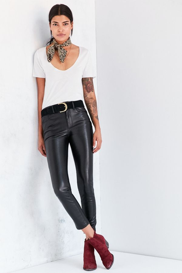 9fbd05b77d19 BDG Twig High-Rise Faux Leather Pant   Urban Outfitters