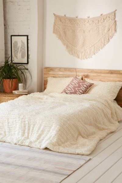 Picture of: Eyelash Fringe Comforter Urban Outfitters