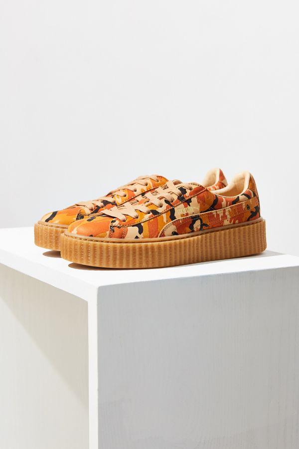 sale retailer 53f48 e8d0e Puma Fenty by Rihanna Camo Creeper Sneaker